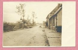 80 - SAINT CHRIST BRIOST - Carte  Photo - Village - Guerre 14/18 - Autres Communes
