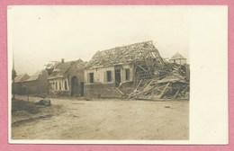 80 - SAINT CHRIST BRIOST - Carte  Photo - Village En Ruine - Guerre 14/18 - Autres Communes