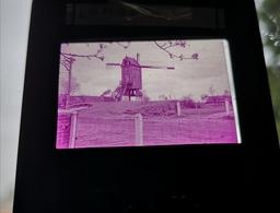 Lembeke Molen Windmolen Dia In Frame Slide Mill Moulin - Dias