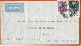 34904. Carta  Aerea SAO PAULO (Brasil) 1934. Via Air France - Brasil