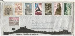 SOBRE TURISTICO PALMA MALLORCA ARTE RELIGION DIA DEL SELLO NAVIDAD VIRGEN - 1931-Hoy: 2ª República - ... Juan Carlos I