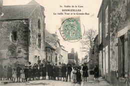 Sermizelles -   La  Vieille  Tour  Et  La  Grande - Rue - Vallée  De  La  Cure. - Autres Communes