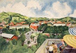 SALSOMAGGIORE - PITTORICA - VIAGGIATA 1956 - (rif. Q39) - Parma