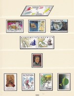 Slovenia - 1992 Year - Collection On Page 16 - MNH - Slovenia
