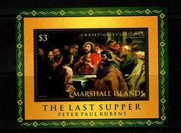 Marshall Islands 1997 Sc # Bf 626  MNH **  Rebens  The Last Supper - Marshalleilanden