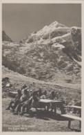 Suisse - Tschiervahütte - Blick Gegen Piz Roseg - Cachet Tschierva-hütte SAC Bernina - GR Grisons
