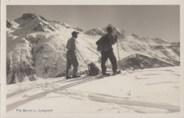 """Suisse - Piz Murail Und Languard - Alpinisme Ski Randonnée - Editeur Photo """"Flury"""" St Moritz-Dorf - GR Grisons"""