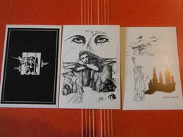 RARE !!!serie Collection 55 Dessins  (commemoration Du Bicentenaire De La Revolution) 55 Illustrateurs  Introuvable !! - Autres Illustrateurs