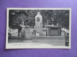 CPA 29 BEUZEC CONQ LE MONUMENT AUX MORTS - Beuzec-Cap-Sizun