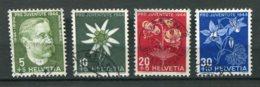15930 SUISSE N°399/402 ° Pro Juventute  1944  B/TB - Pro Juventute