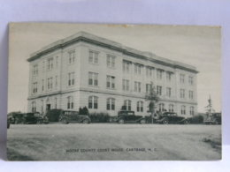 CP ETATS UNIS - North Carolina - Moore Country Court House, Carthage NC - Estados Unidos