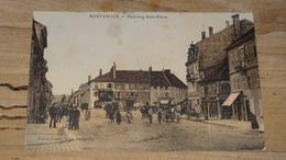 PONTARLIER : Faubourg Saint Pierre  .................... OF-4658 - Pontarlier