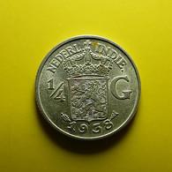 Netherlands East Indies 1/4 Gulden 1938 Silver - [ 4] Colonies