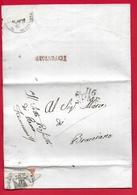 PREFILATELICA NAPOLEONICO - 1813 Lettera Con Testo Da ROMA A BRACCIANO - Timbro 116 ROME Data In Francese E Sigillo - 1. ...-1850 Prefilatelia