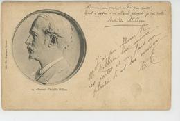 CELEBRITES - POESIE - NIVERNAIS - Portrait Du Poète ACHILLE MILLIEN - Schrijvers