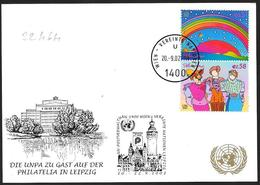 ONU: Cartolina, Postcard, Carte Postale - Centre International De Vienne