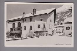 AK CH GR Pontresina 1941-02-05 Foto Engadiner Haus # 980 Flury - GR Grisons