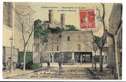 13  CHATEAURENARD , Boulevard De La Gare Et Statue Mascle - Chateaurenard