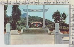 The Monument For Air Force Heroes Near Green Lake Taiwan Formosa Nice Stamp - Formosa
