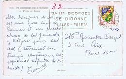 CHARENTE-MARITIME - Flamme Illustrée à Gauche ST GEORGES DE DIDONNE De 1959 - Marcophilie (Lettres)