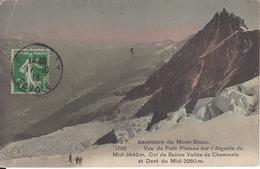 74 CHAMONIX MONT BLANC PETIT PLATEAU GLACIER DES BOSSONS COL DE BALME DENT DU MIDI  EDITEUR FRANCO SUISSE BF 1782 - Chamonix-Mont-Blanc