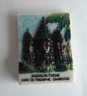 1 FEVE NORDIA 1995 LES MONUMENTS D'ASIE ANGKOR THOM L'ARC DE TRIOMPHE - Comics