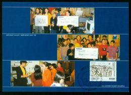 Mk Greenland Maximum Card 1998 MiNr 324 | Europa Cept, National Festivals, Children's Day - Cartes-Maximum (CM)