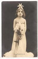 GHL 033 , OLD POSTCARD , FEMALE FANTASY , FOI , CHARITE , ESPERANCE - Femmes