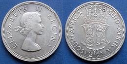 SOUTH AFRICA - Silver 2-1/2 Shilling 1958 KM# 51 Elizabeth II - Edelweiss Coins - Sudáfrica
