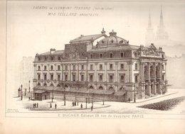 Monographies De Batiments Modernes N° 84 : Théâtre De Clermont Ferrand (63) - Architecture