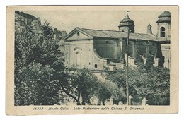 1660 - MONTE CELIO MONTECELIO GUIDONIA LATO POSTERIORE DELLA CHIESA S GIOVANNI 1939 - Guidonia Montecelio