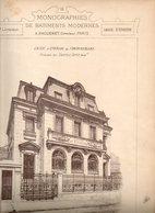 Monographies De Batiments Modernes N° 82 : Caisse D'Épargne De Fontainebleau (77) - Architecture