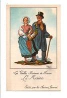 CHROMOS JAMMET - COSTUMES DES PROVINCES DE FRANCE - LE MAINE - Chromo