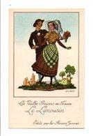 CHROMOS JAMMET - COSTUMES DES PROVINCES DE FRANCE - LE LIMOUSIN - Andere
