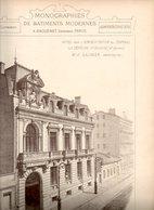 Monographies De Batiments Modernes N° 81 : Hôtel Pour L'administration Du Journal La Dépêche à Toulouse (31) - Architecture