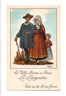 CHROMOS JAMMET - COSTUMES DES PROVINCES DE FRANCE - LE LANGUEDOC - Trade Cards