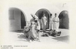 Algérie)   BENI  ABBES  - L' Arrivée Du Courrier - Algérie