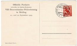 1929, So.- GSK 3 Gr. , Philatel. Tag,    #2732 - Entiers Postaux