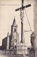 76. DIEPPE. CPA. N.D DE BONSECOURS + TEXTE  ANNEE 1942 - Dieppe