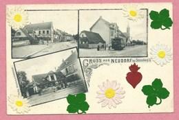 67 - STRASSBURG - STRASBOURG NEUDORF - Gruss Aus NEUDORF - Restaurant A. MAYER - Tram - Tramway - Strassenbahn - Strasbourg