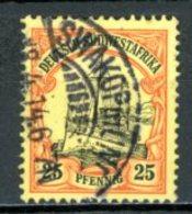 Südwesttafrika   ---   Y&T         Mi   15    Gest.   ---     TTB - Colony: German South West Africa