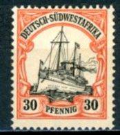 Südwesttafrika   ---   Y&T         Mi   16    X   ---     TTB - Colony: German South West Africa