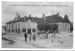 25 - MORTEAU - LA NOUVELLE POSTE ET L HOTEL DE VILLE - Francia