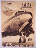 Avion / Airplane / SABENA / Douglas DC-6 / 25 Années D'expérience / Photo - 1946-....: Modern Tijdperk