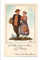 CHROMOS JAMMET - COSTUMES DES PROVINCES DE FRANCE - LE BERRY - Cromo