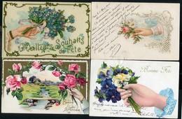 LOT DE 6 CARTES POSTALES THEME MAINS - Postkaarten