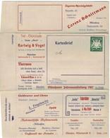 1907, Anzeigen - GA , Luxus!  #2737 - Bavière