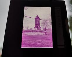 Lembeke Molen Windmolen Dia In Frame Slide Mill Moulin - Diapositivas