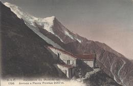 74 CHAMONIX MONT BLANC ARRIVEE A PIERRE POINTUE  EDITEUR FRANCO SUISSE BF 1796 - Chamonix-Mont-Blanc