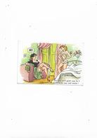 Carte Postale Ancienne Humoristique Sur Mariage Ton Mari Est Il Gentil Avec Toi? Au Point Que Personne Ne Nous Croit Mar - Humour